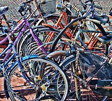 Colorfull bicycles by cgarphotos