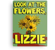 Look At The Flowers, Lizzie #2 Metal Print