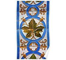 Handmade Tile of Portugal Poster