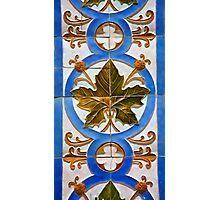 Handmade Tile of Portugal Photographic Print