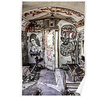 Amy Winehouse Graffiti Train II Poster