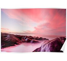 Sunrise Chain Lagoons Poster