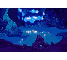 Wyndia: Plummet Caverns Location Painting Photographic Print