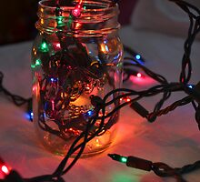 Glowing Mason Jar by flairofclaire
