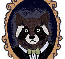 Raccoon Husband by snarkysharky