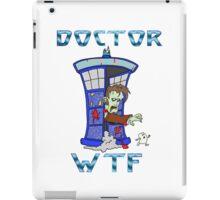 Zombie Doctor Who iPad Case/Skin