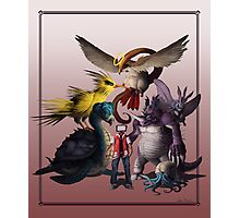 Twitch Plays Pokemon - Red Photographic Print