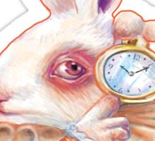 Alice in Wonderland - The White Rabbit Sticker