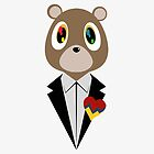 Kanye West DropOut Bear by skyspeck