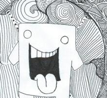 trippy domo  Sticker