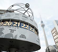 Berlin World Clock by photoeverywhere