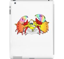 Peaceful Crab iPad Case/Skin