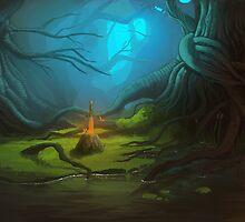 Forest by cmoschler