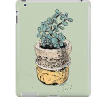 jade plant iPad Case/Skin