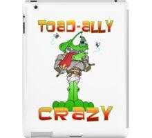 Crazy Toad iPad Case/Skin