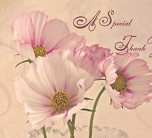 A Special Thank You - Card by Sandra Foster