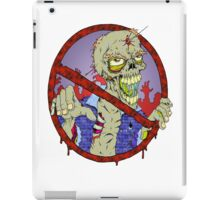 No Zombies iPad Case/Skin