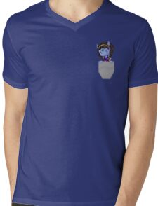 Pocket Draenei Mens V-Neck T-Shirt