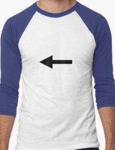 I'm with him until I meet Nathan Fillion Men's Baseball ¾ T-Shirt