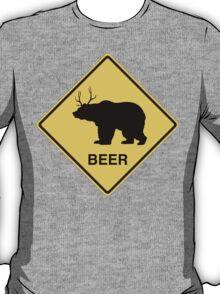 Bear Deer Beer t-shirt T-Shirt