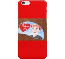 Rock Art, I Love Lucy iPhone Case/Skin