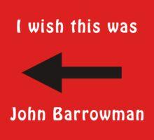 I wish this was John Barrowman Kids Clothes