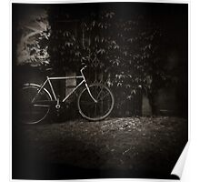 { lonesome bicycle } Poster