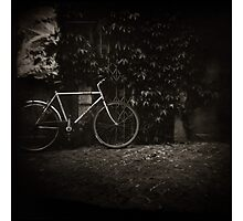 { lonesome bicycle } Photographic Print