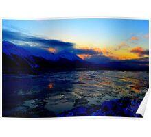 Alaskan Waterscape Poster