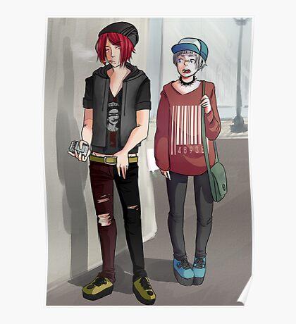 wannabe punk rintori Poster