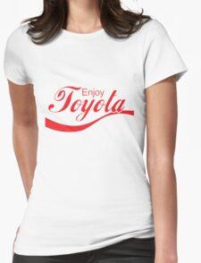 Enjoy Toyota JDM Shirt Womens Fitted T-Shirt