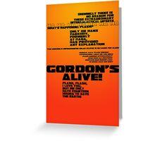 Flash Gordon - Queen Greeting Card