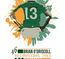 Brian O'Driscoll | Career Milestones by CowBeck