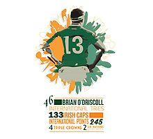 Brian O'Driscoll   Career Milestones Photographic Print