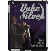 Duke Silver iPad Case/Skin