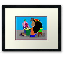 Chess - a great escape Framed Print