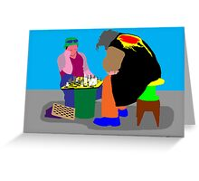 Chess - a great escape Greeting Card