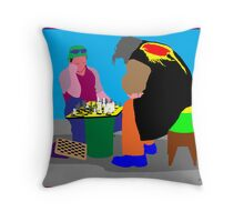 Chess - a great escape Throw Pillow