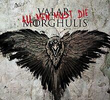 Valar Marghulis Crow by SimpleSimonGD