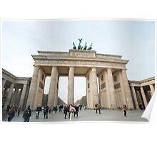 Brandenburg gate Poster
