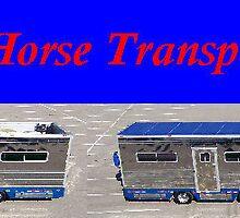 Equine transportation by horsetransport