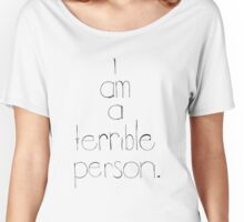Just Being Honest Women's Relaxed Fit T-Shirt