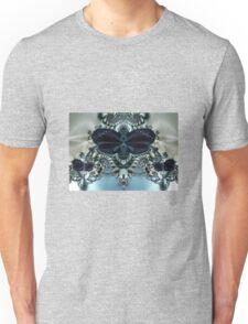 Blue Butterfly Lace II Unisex T-Shirt