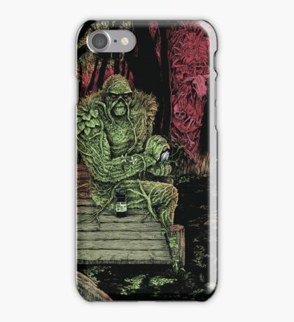 Swamp Watcher iPhone Case/Skin