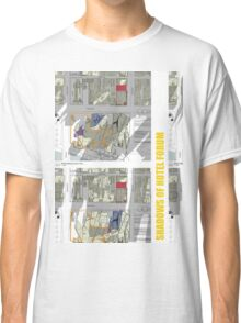 Keep Hosier Real - Shadows across Fed Square Classic T-Shirt