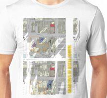 Keep Hosier Real - Shadows across Fed Square Unisex T-Shirt