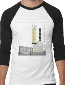 Keep Hosier Real - WTF Hotel Forum Men's Baseball ¾ T-Shirt
