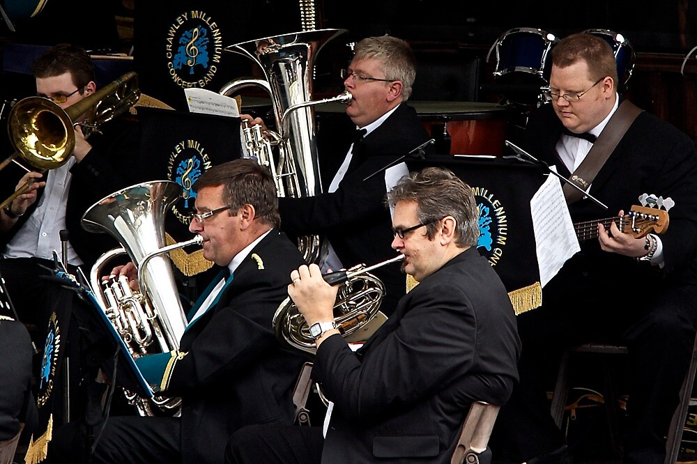 Crawley Millenium Band by John Thurgood