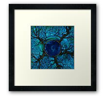 Interconnected Tree of Life Framed Print