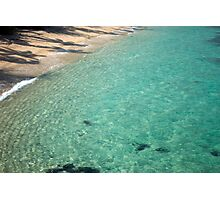 Beautiful clear sparkling tropical sea Photographic Print